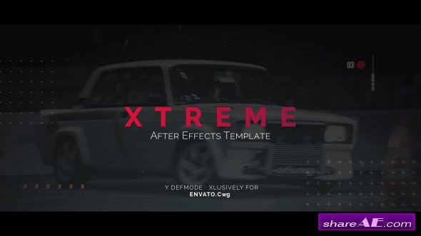 Videohive Xtreme Opener