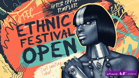 Videohive Ethnic Festival Open