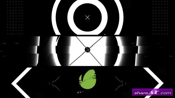 Videohive Black White Intro