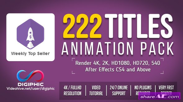 Videohive Titles Animation