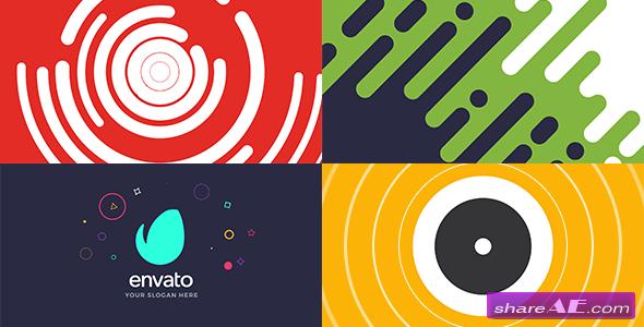 Videohive Shape Logo Intro