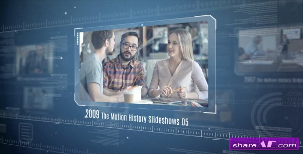 Videohive The Motion History Slideshows