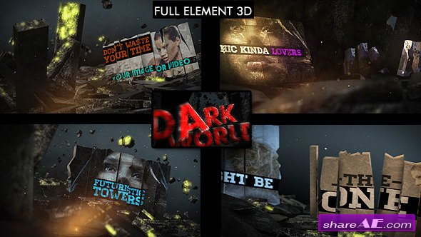 Videohive Dark World Opener