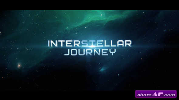 Videohive Space Interstellar Titles