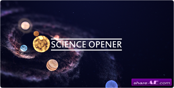 Videohive Science Opener 12842901