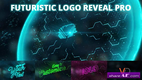 Videohive Futuristic Energy Logo Reveal PRO