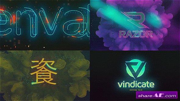 Videohive Cyberpunk Glitch Logo Reveal