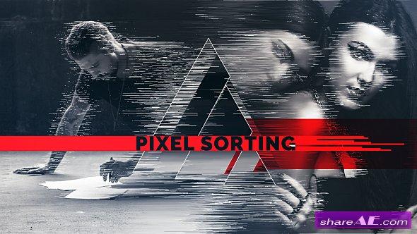 Videohive Pixel Sorting Slideshow