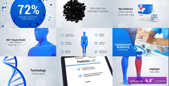 Videohive Healthcare Medicine Promo 18269734 Premium After Effects Template