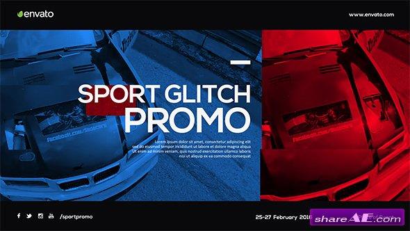 Videohive Sport Glitch Promo