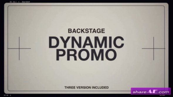 Videohive Backstage