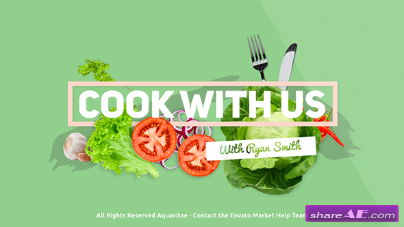 Videohive Cook With Us - Cooking TV Show Package