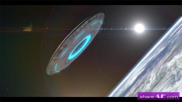 Videohive UFO Logo Reveal