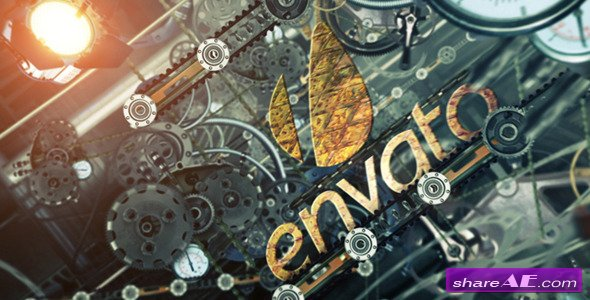 Videohive Mechanical Logo Reveal 3883817