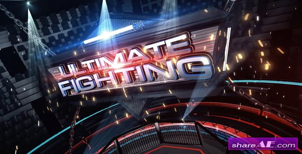 Videohive Ultimate Fighting Broadcast Pack