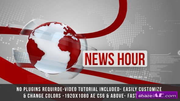 Videohive Global News Intro Title