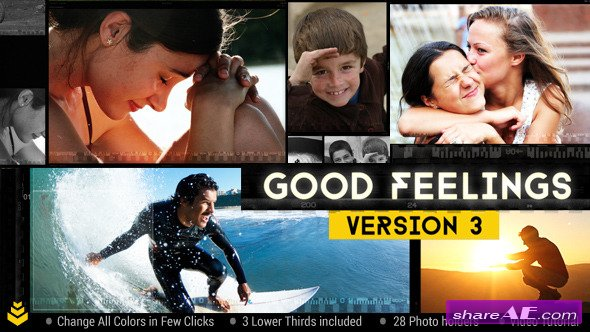 Videohive Good Feelings v3