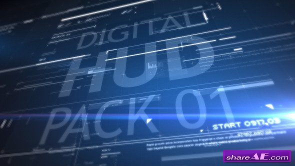 Videohive HUD Pack 01