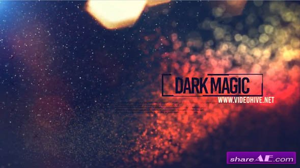 Videohive Dark Magic