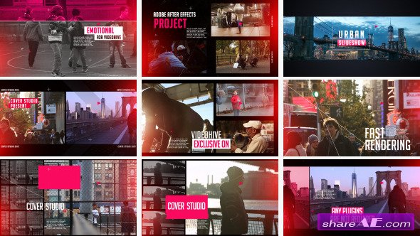 Videohive Urban slideshow 12596497