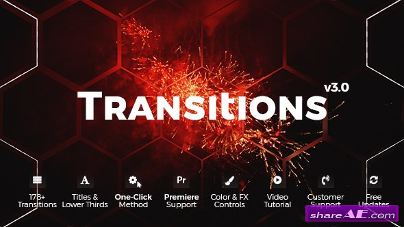 Videohive Transitions 20139771
