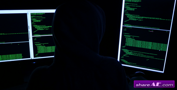 Hacker - Stock Footage (Videohive)