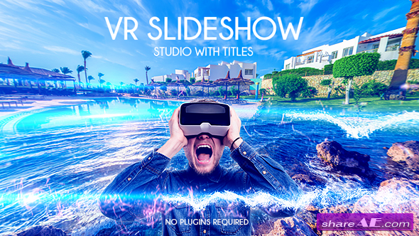 Videohive 4K VR Slideshow Studio with Titles