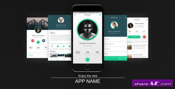 Videohive App Presentation