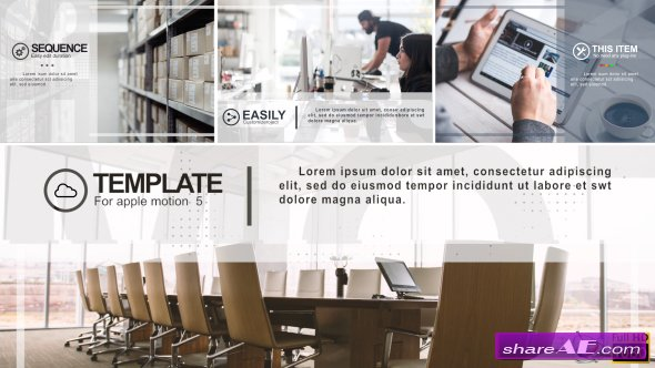 Videohive Minimal Corporate Slideshow - Apple Motion