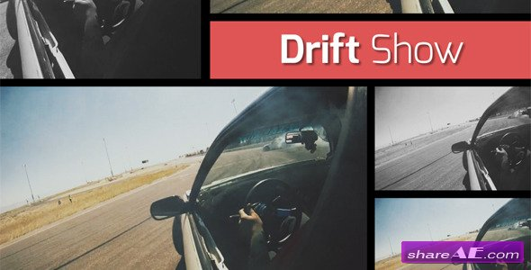 Videohive Drift Show - Dynamic Opener