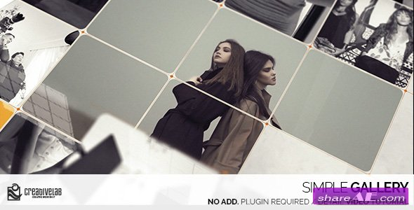 Videohive Simple Gallery