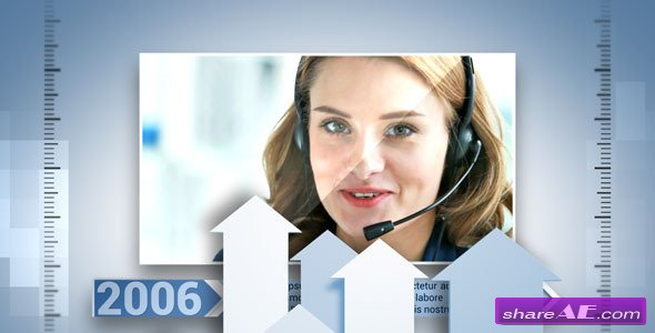 Videohive Corporate Timeline 4884782