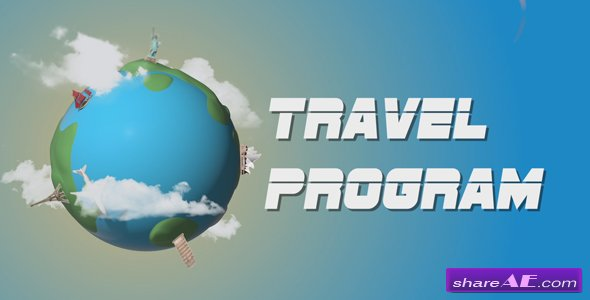 Videohive Travel Program Broadcast