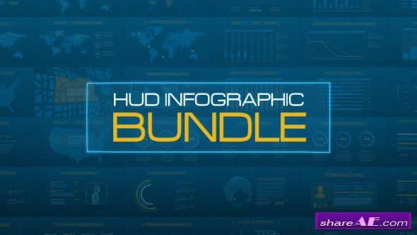 Videohive HUD Infographic Bundle