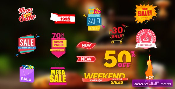 Videohive Sales Labels 2
