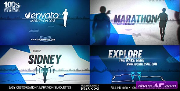 Videohive Your Marathon Broadcast Design
