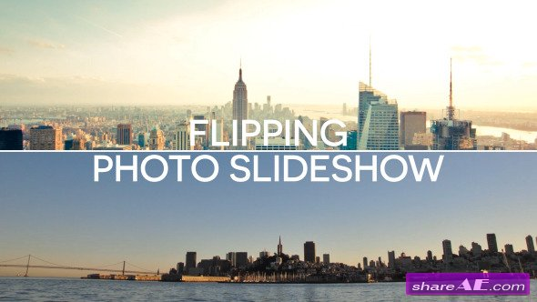 Videohive Flipping Photo Slideshow