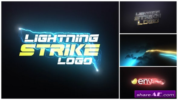Videohive Lightning Strike Logo