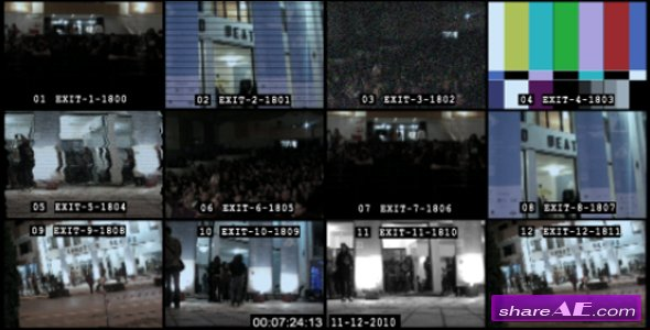Videohive Security Monitor