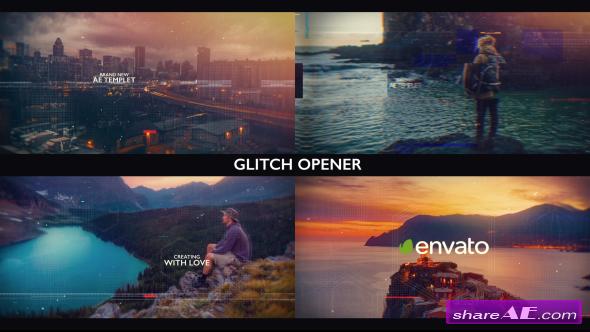 Videohive Glitch Opener 20314010