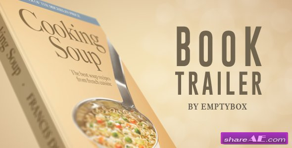 Videohive Book Trailer