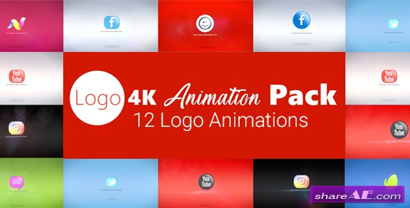 Videohive Logo 4K Animation Pack