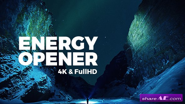 Videohive Energy Opener