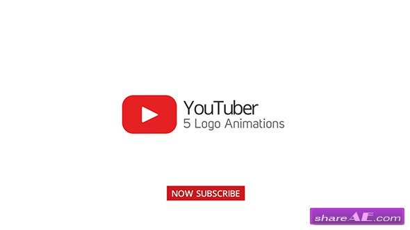 Videohive Youtuber Logo Stings - 5 Versions