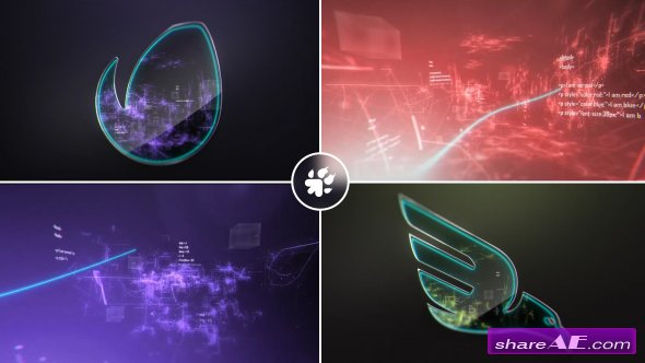 Videohive Digital Vortex Logo