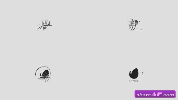 Videohive Minimal Drawing Logo