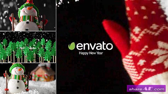 Videohive New Year Card