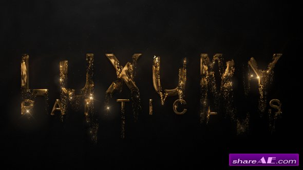 Videohive Luxury Particle Logo