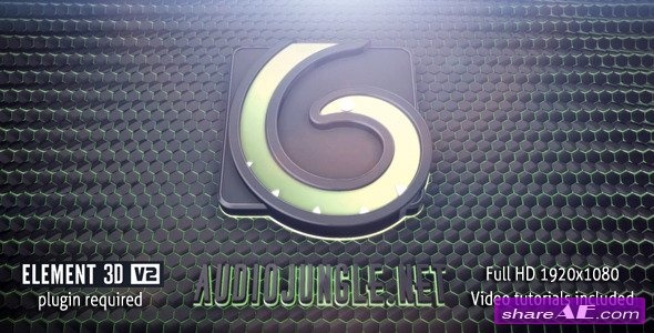 Videohive Tech Logo Reveal