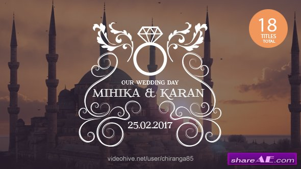 Videohive Wedding Titles 19864773
